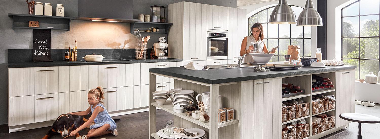 massivholzk chen kaufen bei m bel rundel in ravensburg. Black Bedroom Furniture Sets. Home Design Ideas