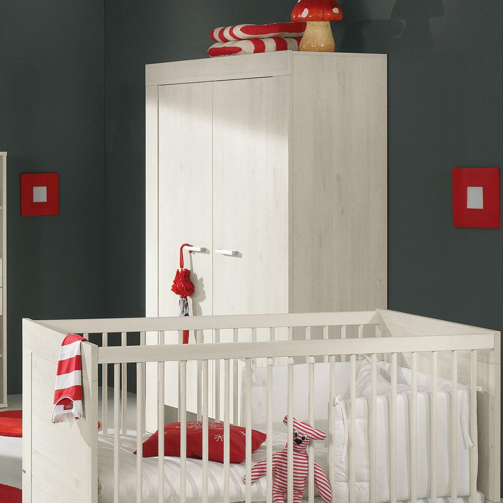 kleiderschrank mees 2 trg m bel rundel. Black Bedroom Furniture Sets. Home Design Ideas