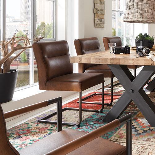 Schwingstuhl ohne armlehne m bel rundel - Schwingstuhl mit armlehne esszimmer ...