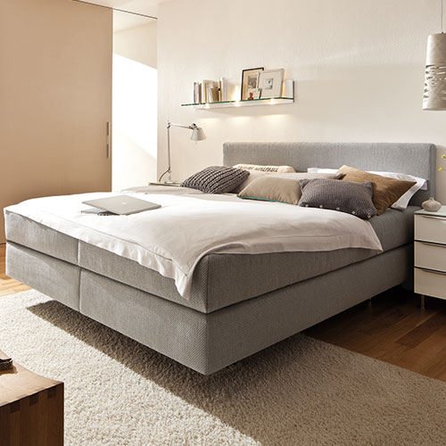 boxspringbett suite comfort m bel rundel. Black Bedroom Furniture Sets. Home Design Ideas