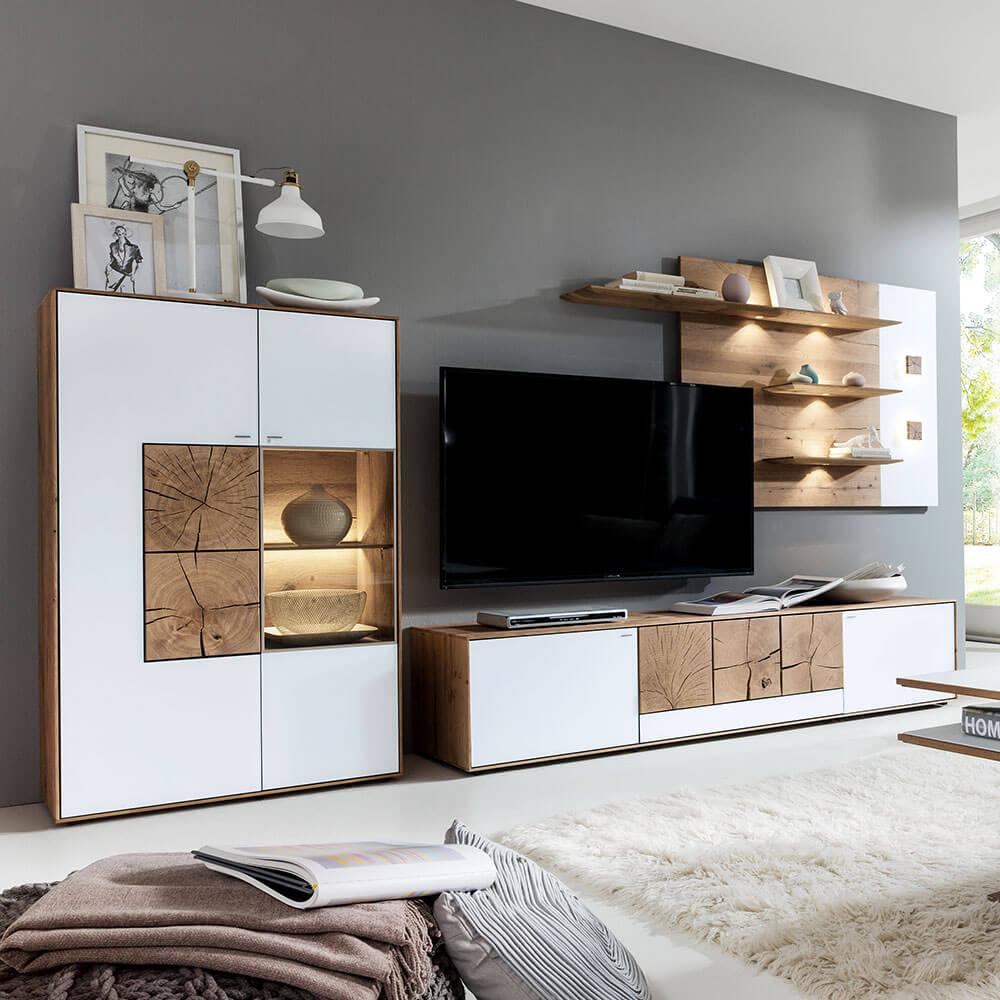 Wohnkombination CAYA Möbel Rundel
