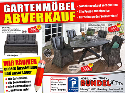 gartenmoebel abverkauf small. Black Bedroom Furniture Sets. Home Design Ideas