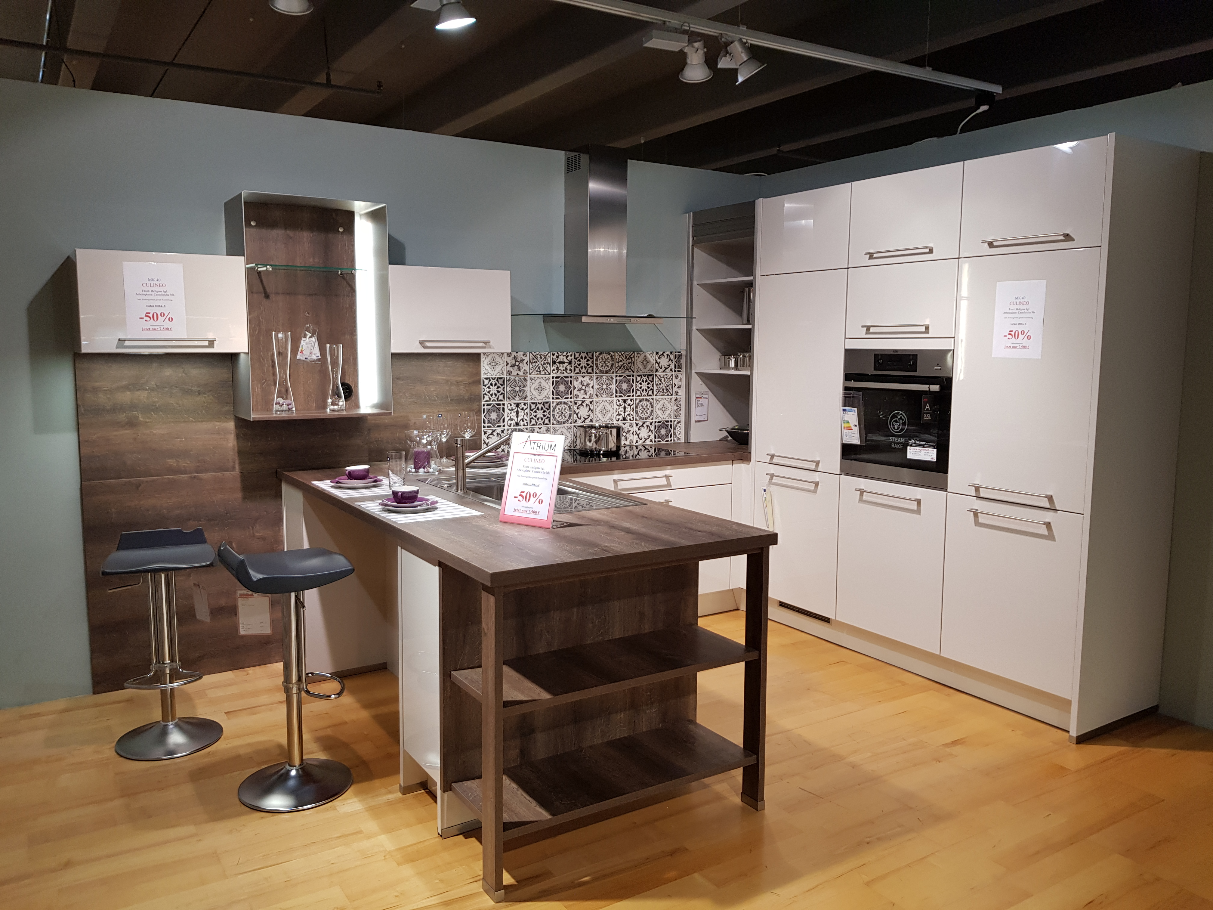 culineo k che 480018 m bel rundel. Black Bedroom Furniture Sets. Home Design Ideas