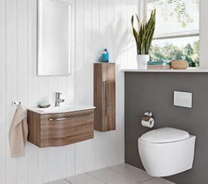 Kleine Badezimmer Grosse Wirkung Mobel Rundel